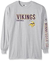 NFL New York Jets Long Sleeve Two Hit Screen Tee, 4X Tall, Heather Grey