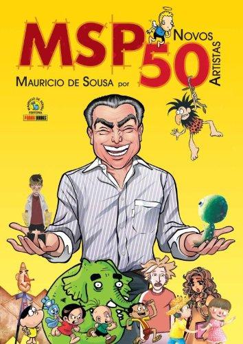MSP Novos 50 – Maurício de Sousa Por 50 Novos Artistas (Capa Comum)