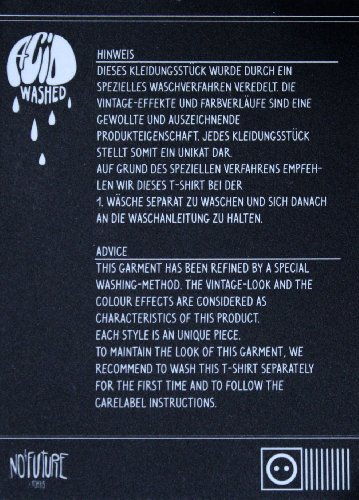 NO FUTURE, Herren T-Shirt, The Spirit, Street Couture, NF/GAS-12-009