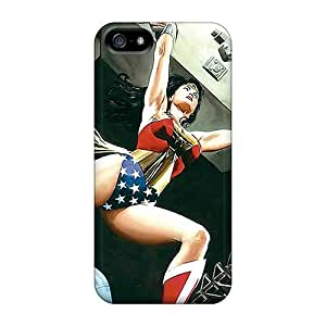 Shockproof Hard For Ipod Touch 5 Phone Case Cover With Allow Personal Design Attractive Wonder Woman I4 Pictures AaronBlanchette