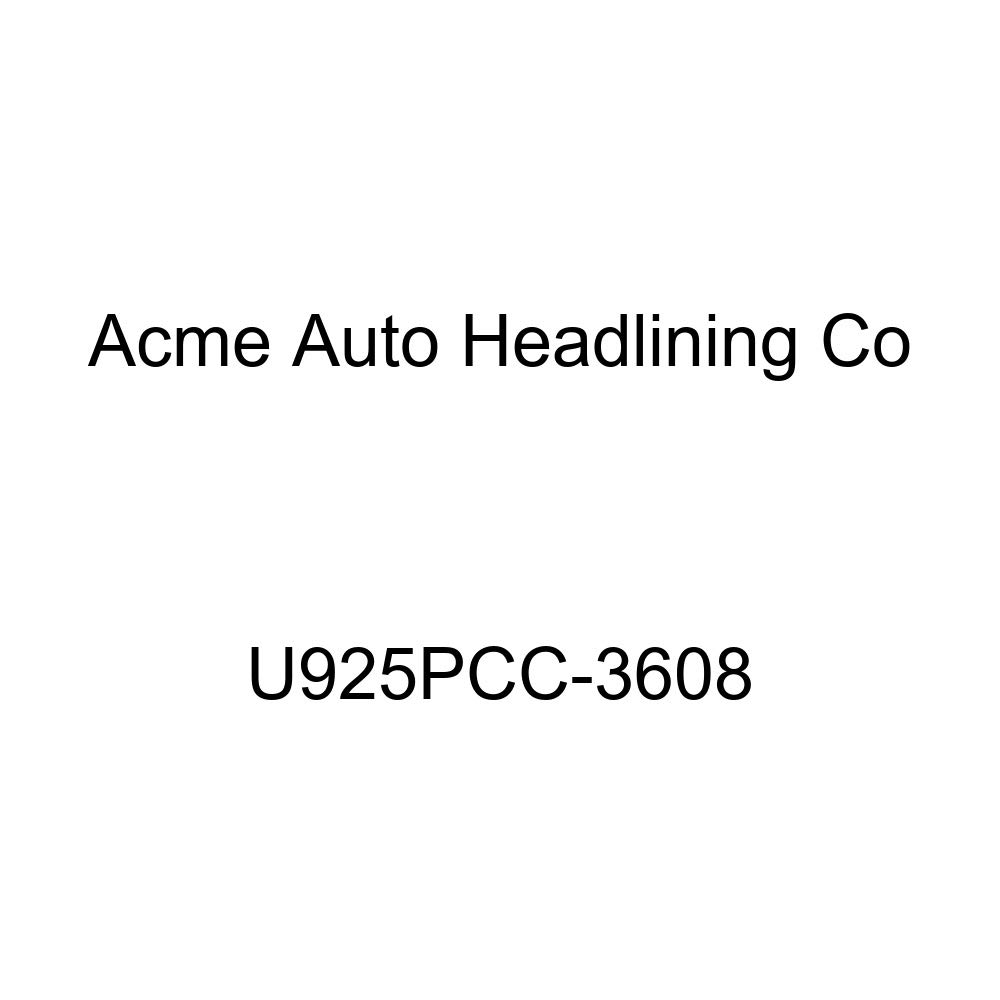 Acme U925PCC-3608 Front and Rear Light Blue Vinyl Bench Seat Upholstery