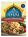 A Taste of Thai Coconut Ginger Jasmine Rice, 7-Ounce Boxes (Pack of 6)