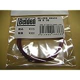 新品@ギターパーツ 配線材関連 ケーブル ベルデン #8503 1m  R レッド 赤 音質向上に