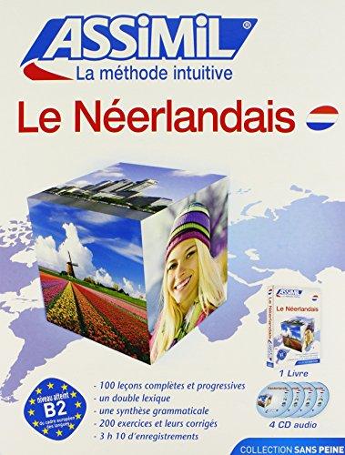Assimil Language Courses / Le Nouveau Neerlandais sans Peine (Dutch Language Course for French Speakers / Book plus 4 Audio Audio Cassettes