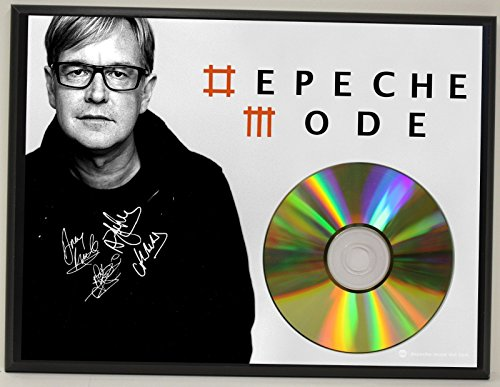 DEPECHE MODE LTD EDITION REPRODUCTION SIGNATURE SERIES PICTURE CD DISPLAY GIFT