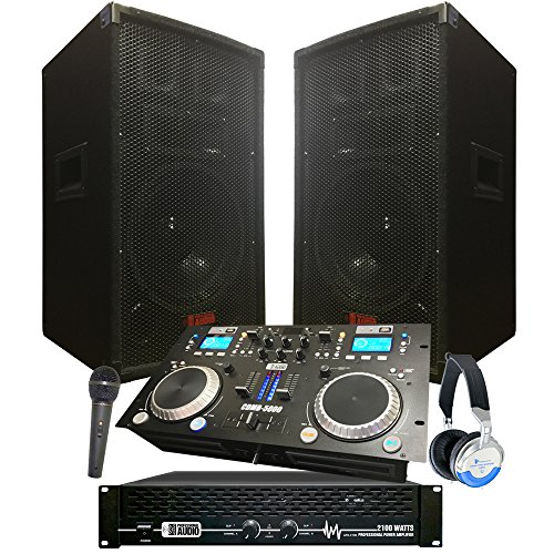 - Starter Dj System - 2100 WATTS - Connect your Laptop, iPod, USB, MP3's or Cd's! 10