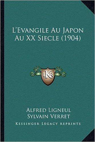 Livre gratuits L'Evangile Au Japon Au XX Siecle (1904) pdf epub