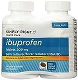 Member's Mark Ibuprofen Tablets, 200 mg (600 ct., 2 pk.) Total 1200 Tablets