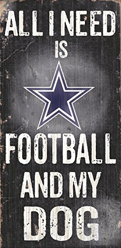 Fan Creations N0640 Dallas Cowboys Football and My Dog Sign ()