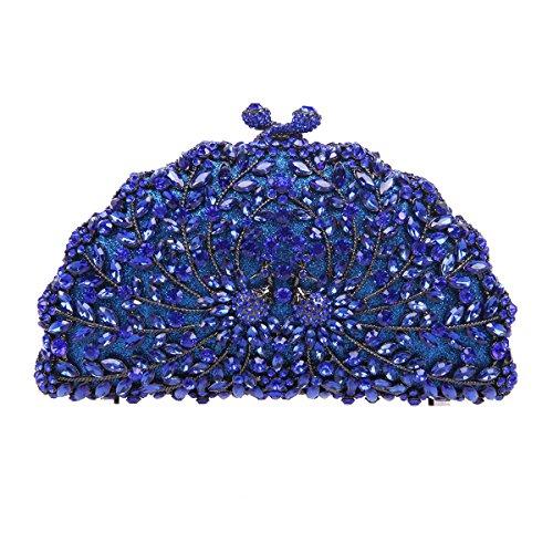 Fawziya Peacock Handbags For Women Purses Wholesale Bags Brands-Blue