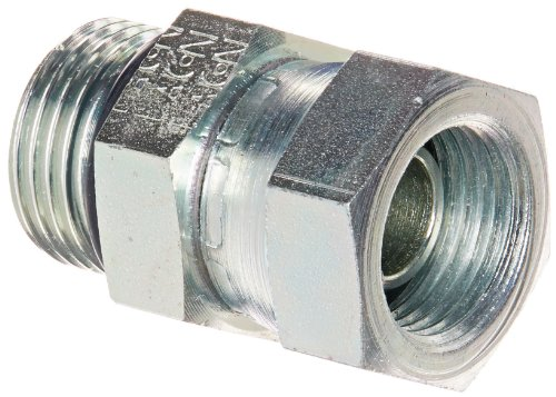 Eaton Aeroquip 2066-6-8S Steel Pipe Fitting, Adapter, 3/8