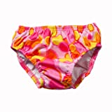 Swim Diaper - Pink Bubble M