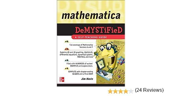 Mathematica DeMYSTiFied: Amazon.es: Hoste, Jim: Libros en idiomas ...