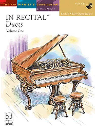 In Recital Duets, Volume One, Book 4, with CD
