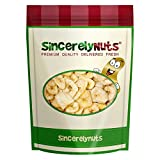 Sincerely Nuts Banana Chips Sweetened - Insanely Delicious - Five Lb. Bag – Packed With Mineral Nutrients - Ready To Eat - Sealed For Freshness - Kosher Certified