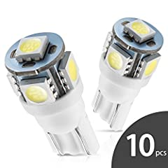 ✪ATTENTION: the amazon filter of 194 168 t10 2825 led bulbs not mean that they would definitely fit all positions for your car.It depends on your car.If you have no idea about bulb size, pls contact us.✪Descrption:100% Brand New .Super brigh...