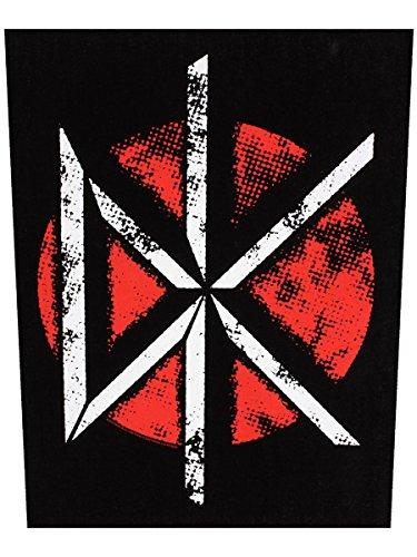 XLG Dead Kennedys DK Logo Back Patch Punk Rock Band Jacket Sew On Applique