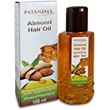 PATANJALI Almond Hair Oil (Pack of 3)