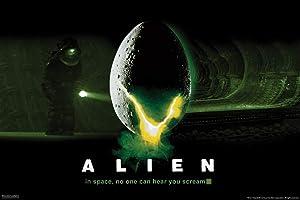 Pyramid America Alien 1979 Xenomorph Egg Crack Eggs Horror Science Fiction Classic Retro Cool Wall Decor Art Print Poster 12x18