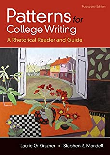patterns for college writing a rhetorical reader and guide