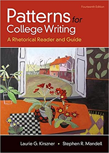 Amazon Patterns For College Writing A Rhetorical Reader And Custom Patterns For College Writing 13th Edition