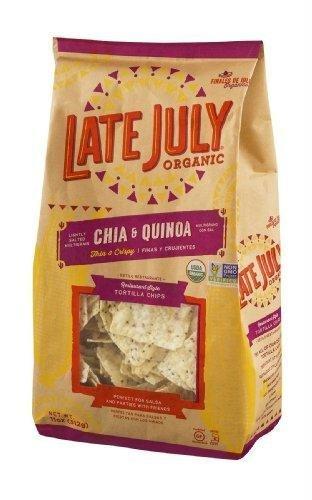 Late July Restaurant Style Tortilla Chips - Chia & Quinoa - 11 OZ