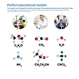 Molecular Model Kit 141 PCS, OCDAY Organic and Inorganic Chemistry Molecular Model Student Set (59 Atoms and 82 Bonds Parts)