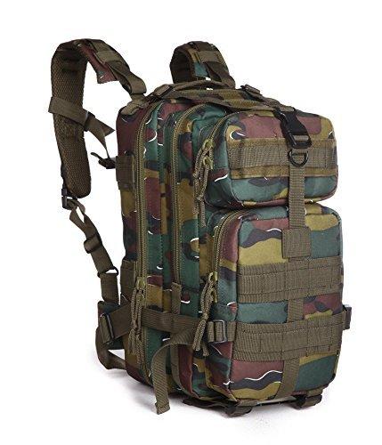 30 LアウトドアタクティカルスポーツキャンプハイキングトレッキングバッグミリタリーリュックサックSmall Assaultバックパック B01F9K0BBI