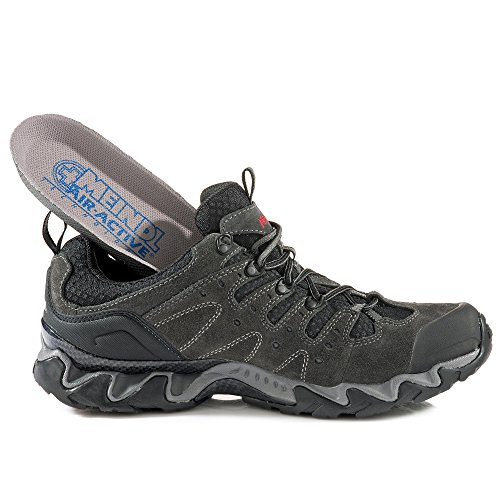 46 Men Anthrazit Schuhe Portland Meindl GTX qxF6Rf