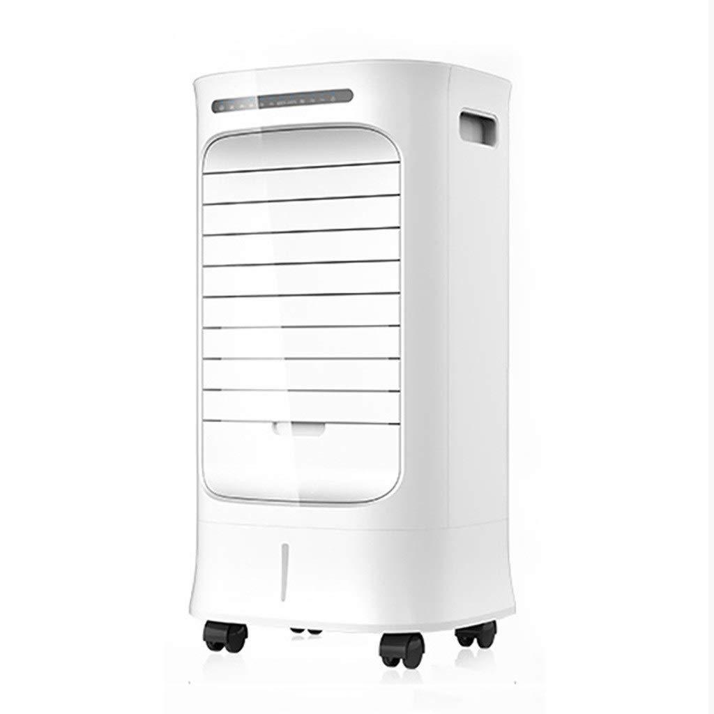 スリム扇風機 モバイルエアコンホームリモートコントロール、ポータブルエアコン、3ファンの速度とタイマー、ルームオフィスの静かな冷たいファン、、ホワイト B07TXJSKVZ