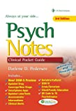 PsychNotes: Clinical Pocket Guide, 3rd Edition, Darlene D. Pedersen, 0803627718