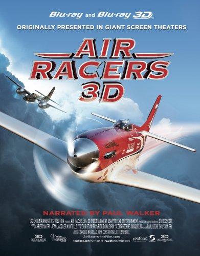 Air Racers 2D & 3D Blu-Ray (Treats Bird Bits)