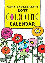 Mary Engelbreit's 2017 Coloring Weekly Planner Calendar
