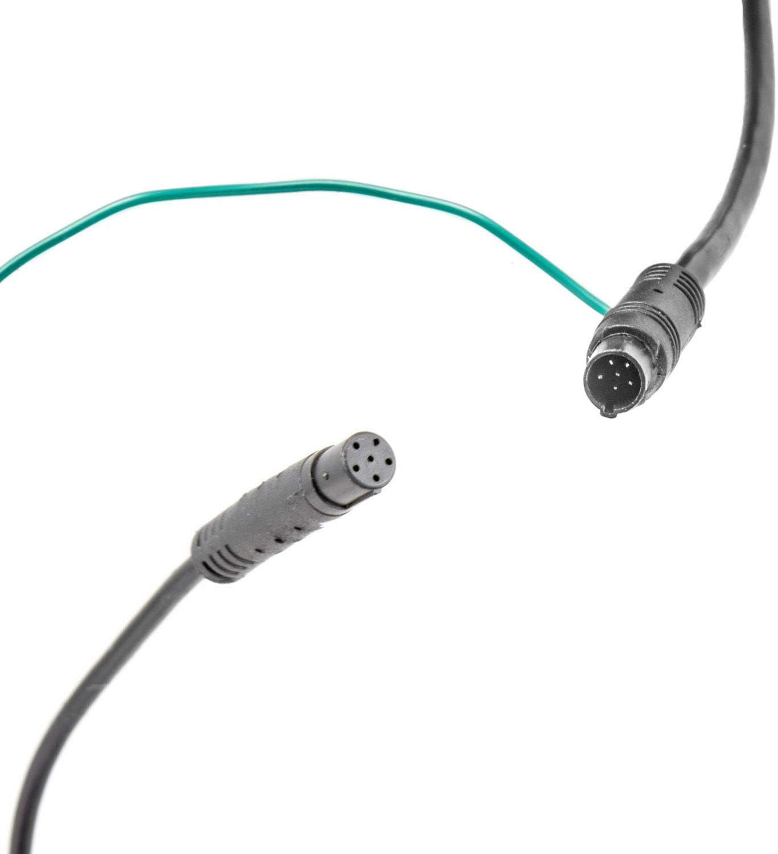 Cavo di collegamento per fotocamera posteriore a 6 pin con connettore sottile da 7 mm a 6 pin Carmedien