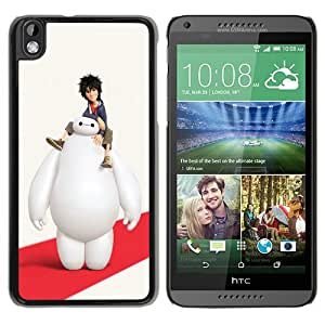 Popular Design HTC Desire 816 Case Of big hero 6 Black Recommended Picture HTC Desire 816 Phone Case