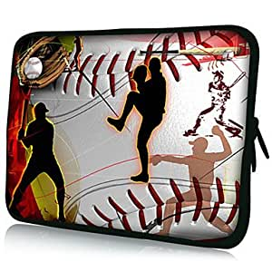 "Baseball Pattern 7""/10""/13"" Laptop Sleeve Case for MacBook Air Pro/Ipad Mini/Galaxy Tab2/Sony/Google Nexus 18132 --- SIZE:10"" (+GBP £ 1.25)"