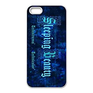 Sleeping Beauty iPhone 4 4s Cell Phone Case White xlb-217260