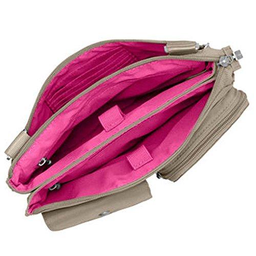 Chain Everything Key Purse Baggallini Bag amp; Beach Wristlet Accordion Crossbody w q1xAH