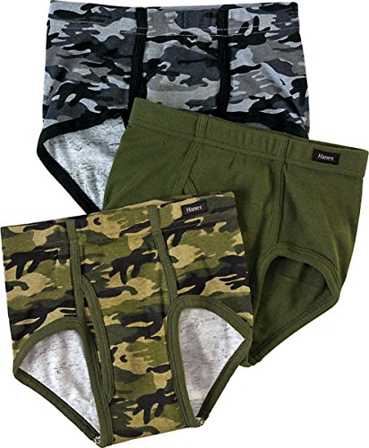 Price comparison product image Hanes Boys' Ultimate Brief with ComfortSoft Waistband Assorted 3-Pack_Assorted_M