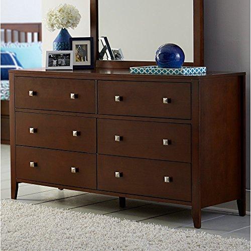 Hillsdale Furniture 31500 Hillsdale Kids and Teen Pulse, Cherry 6 Drawer Dresser