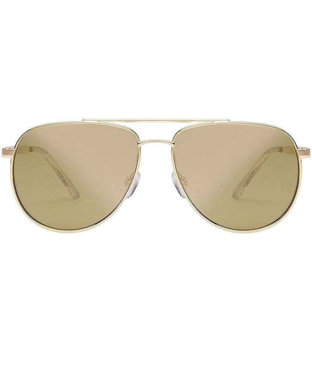Le Specs Hombres gafas de sol golpean duro Oro: Amazon.es ...