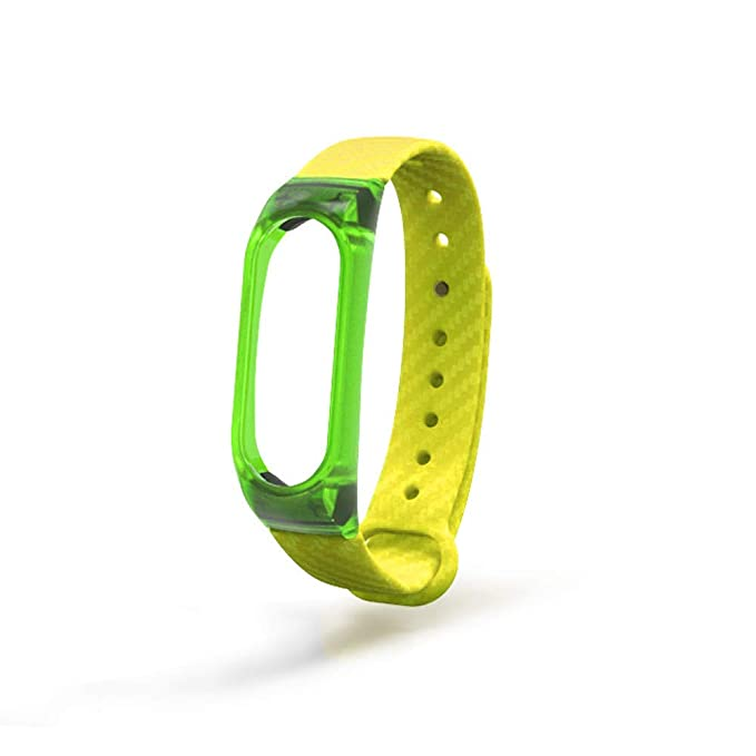 Amazon.com: Cathy Clara Clear TPE Wristband Sport Style Strap Bracelet for Xiaomi Mi Band 2 Watch Band Strap Replacement for Men: Cell Phones & Accessories
