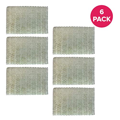 Crucial Air Humidifier Filter Replacement HWF100 Parts Compatible with Holmes Part # HWF-100 – Fits HM7204, HM7305, HM7305RC, HM7306, HM6000, HM6000RC, HM6600, HM6005HD, HM729, HM4600, HM630 (6 Pack)