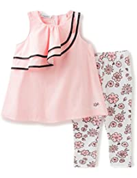 Baby Girls' 2 Piece Tunic and Printed Legging Set-Gingham