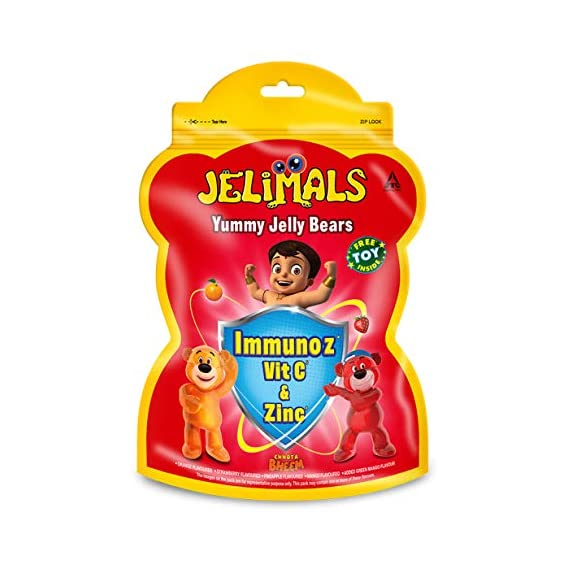 Candyman Jelimals with Immunoz 108g