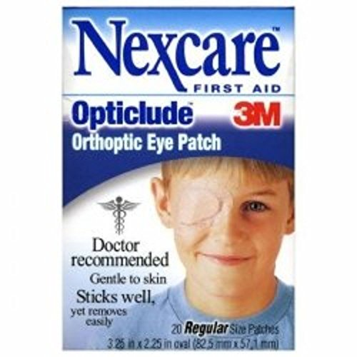 3M Orthoptic Eye Patch Nexcare Opticlude Regular Adhesive #1539 by Nexcare Opticlude