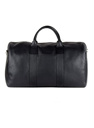 Pebble Grain Leather Holdall  Amazon.co.uk  Luggage 70212f5fd18dc