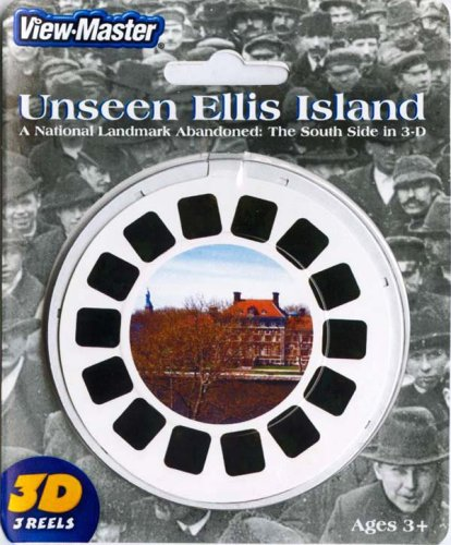 Unseen Ellis Island New York - ViewMaster 3 Reel - Exam Eye Nyc