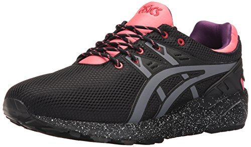 ASICS Men's Gel-Kayano Trainer Evo G-TX Fashion Sneaker, Black/Grey, 13.5 M US