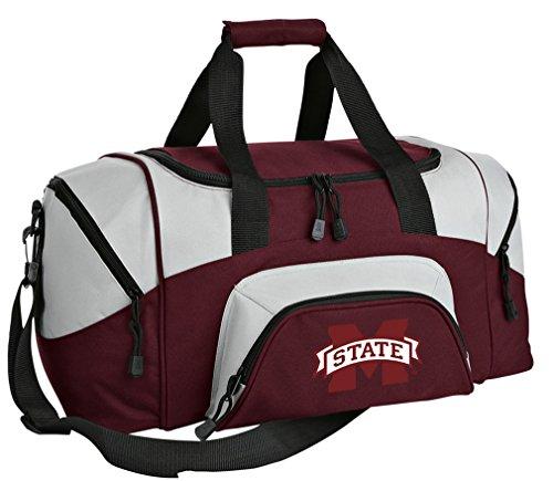 Gym State Mississippi Bulldogs Bag (SMALL MSU Bulldogs Gym Bag Deluxe Mississippi State University Travel Bag)